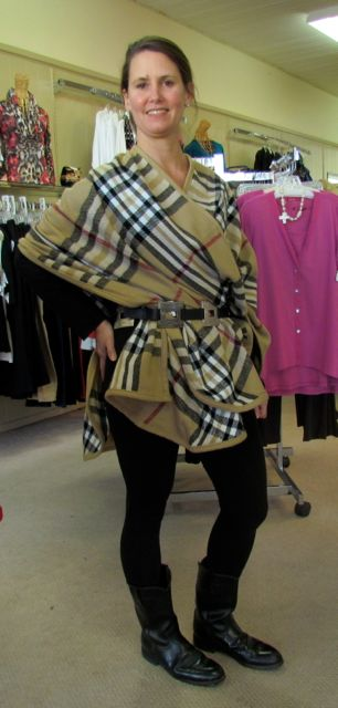 Burberry Cape by Shell Game