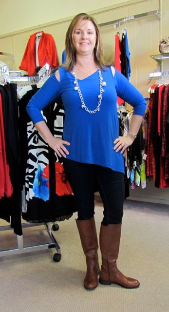 Sapphire top by Last Tango