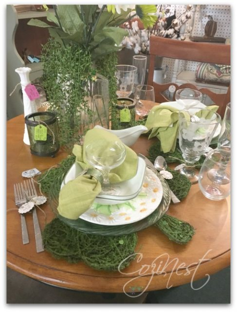 St. Patty's Day Placesetting