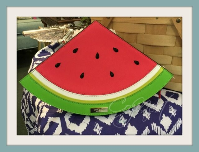 Kate Spade Watermelon Clutch