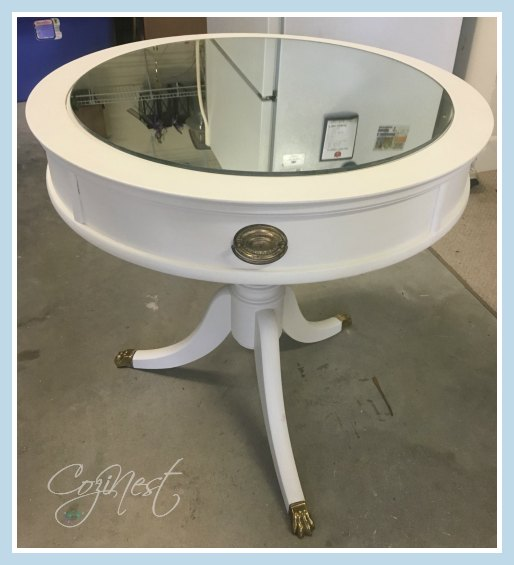 duncan phyfe table with mirror