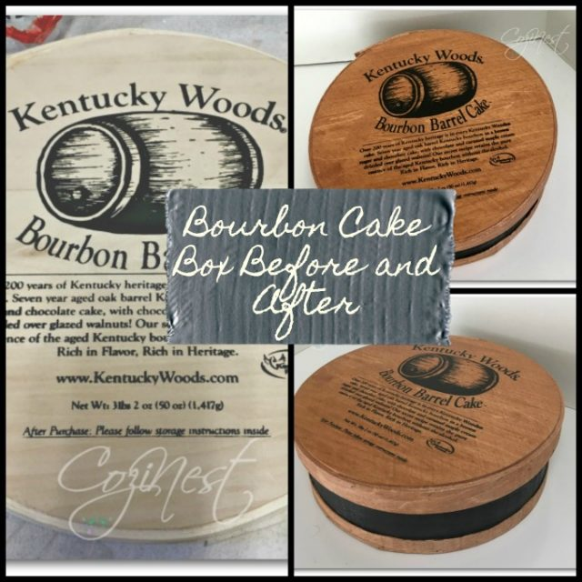 Kentucky Bourbon Cake Box Collage
