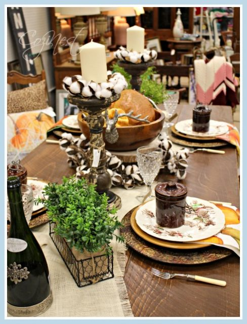 Casual Fall Table