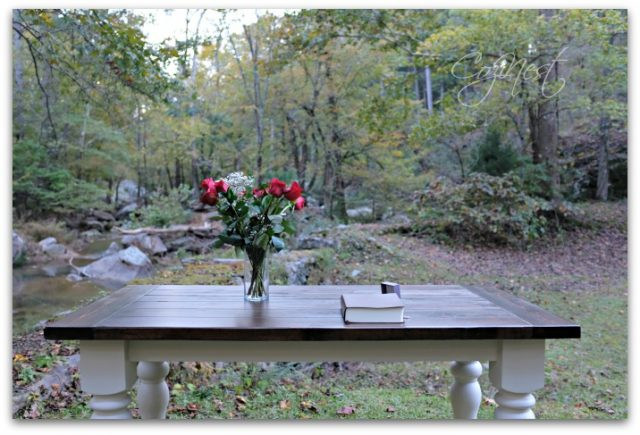 table for a proposal