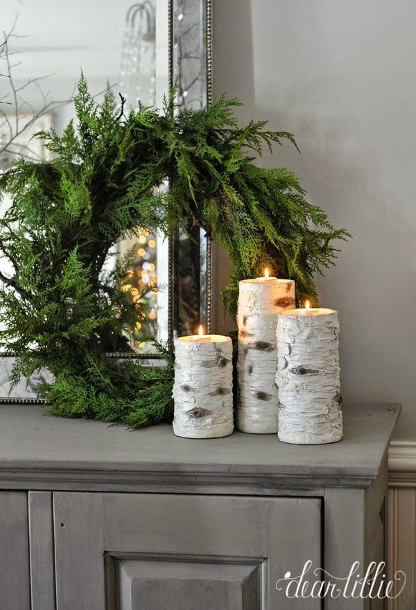 accents and decor Rustic Winter Decor by LizMarie