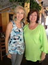 Rhoda Vickers and me.
