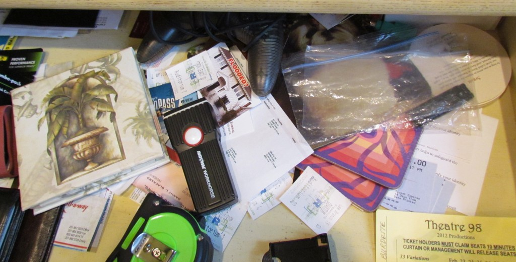 Decluttering the Junk Drawer