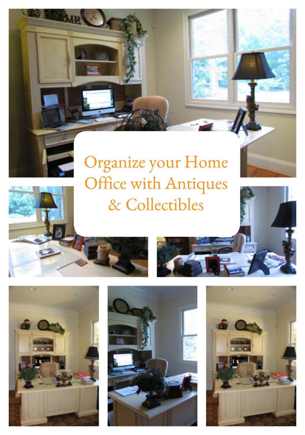 Organizing a Home Office Using Antiques & Collectibles