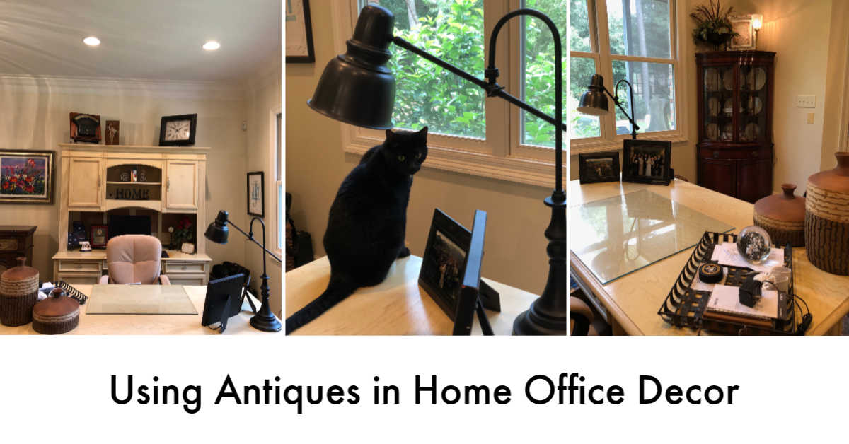 Using Antiques in Home Office Decor