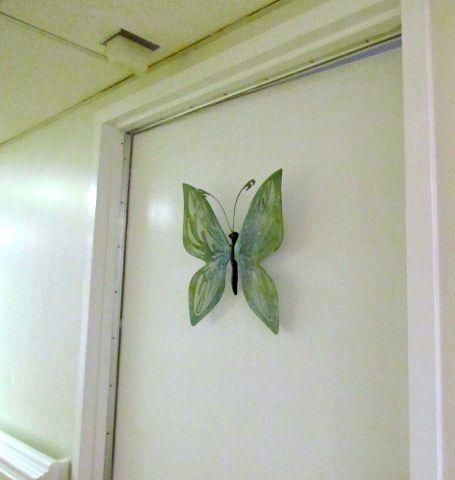 Butterfly Door Decoration