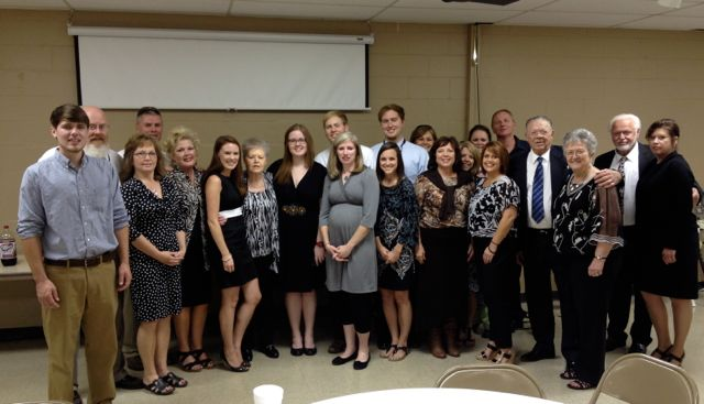 Our family with only a few spouses and grandchildren missing.