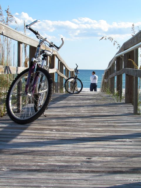 Bike Riding in Pensacola Beach, FL