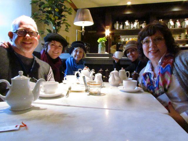 Tea Room at Edinburgh Castle