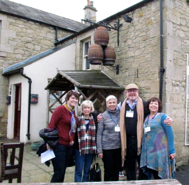 A great time at the pub, where we had our first fish and chips.
