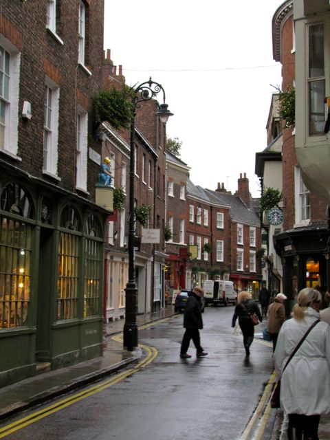 Narrow Streets of York