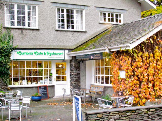 Tea Room in Grasmere Garden Village