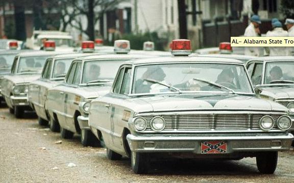 1964 Ford Alabama State Trooper Vehicle