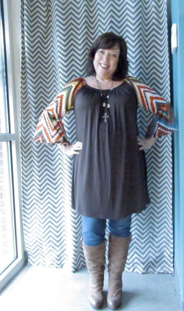 Tunic with Skinny Jeans