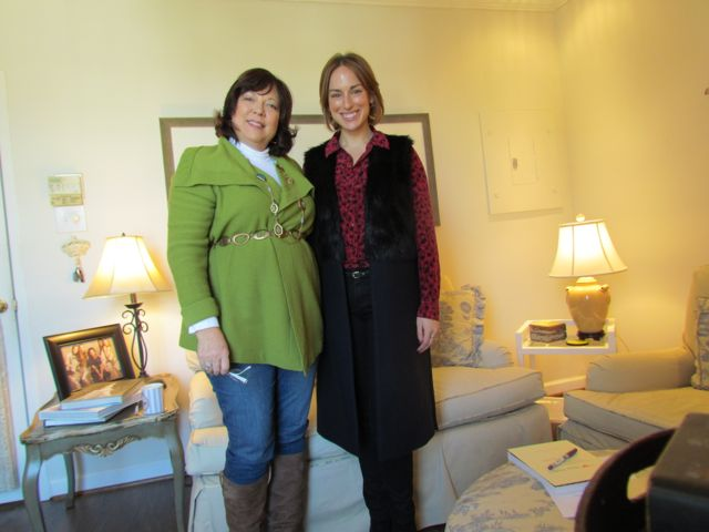 Kim with Megan LaRussa of Southern Femme