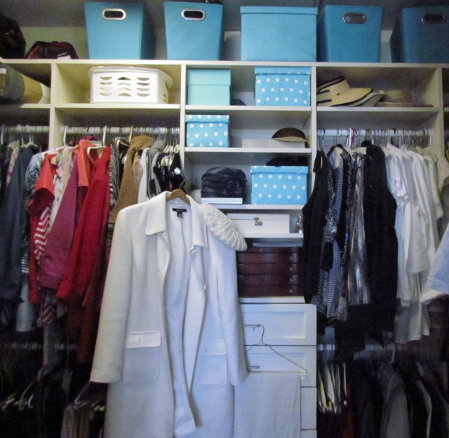 Closet Before the Cleanse
