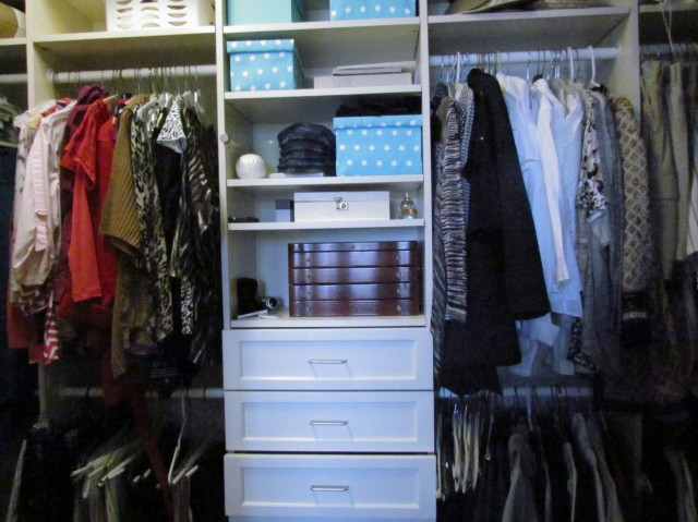 Closet After Cleanse