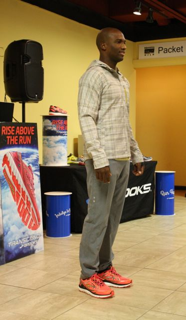 Damarice, model Brooks Fashion Show, Pensacola, FL