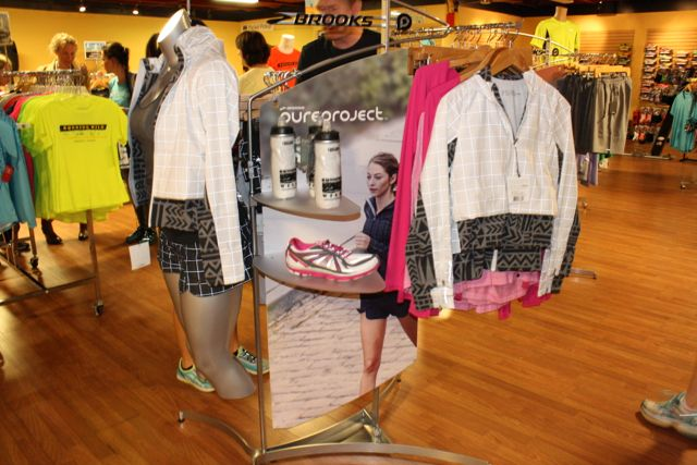 Brooks Clothing Display