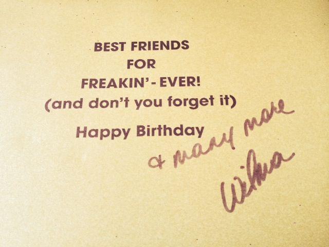 Signature Friendship