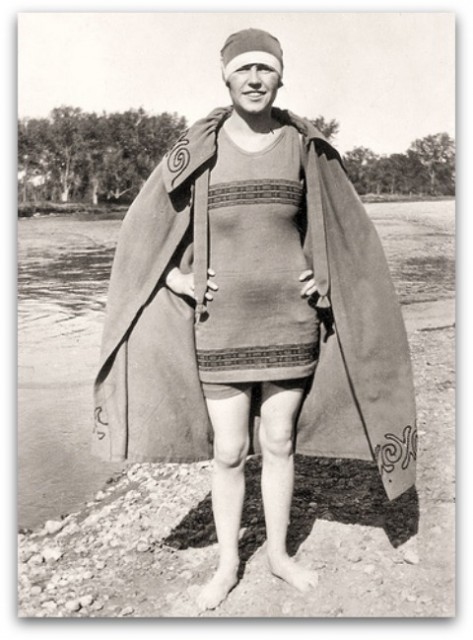 Old Fashioned Swimsuit