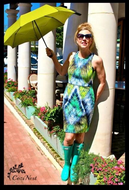 Jade Hunter Rain Boots