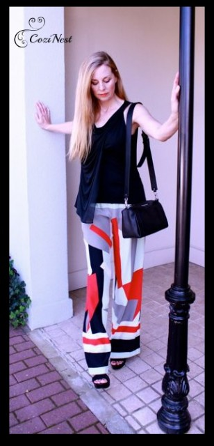 Parker Abstract Pant