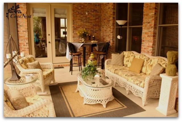 Pollen-free Porch