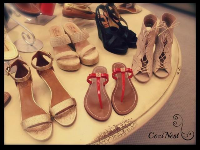 Our shoe show.