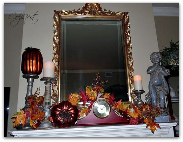 Fall Mantle Decorations