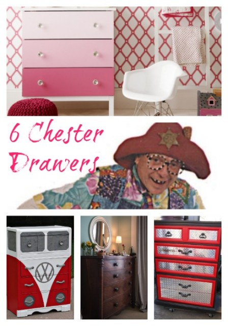 6 Chester Drawers