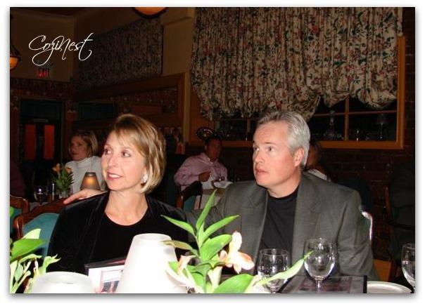 Karen & Russ at Restaurant