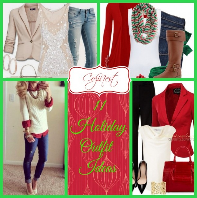 11 Holiday Outfit Ideas