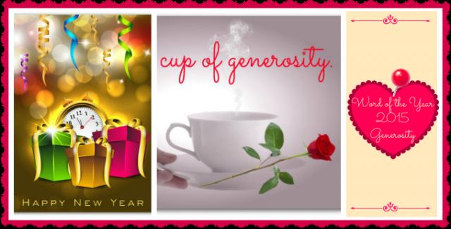 Generosity Collage