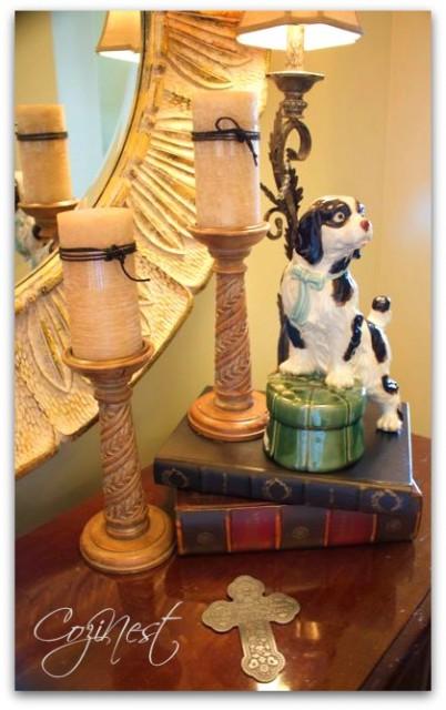 English Spaniel on Books