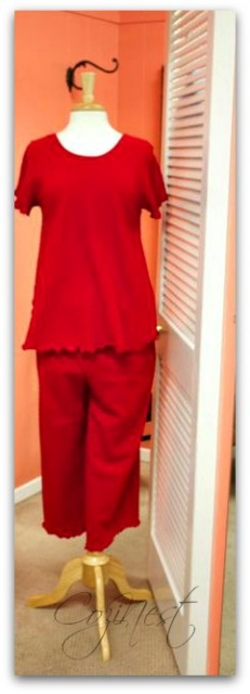 Red Comfy PJ's