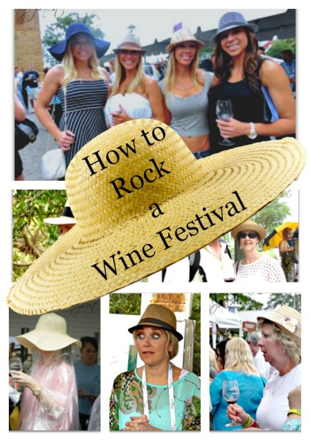 Wine Festival Collage
