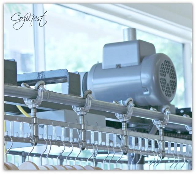 rolling rack mechanism