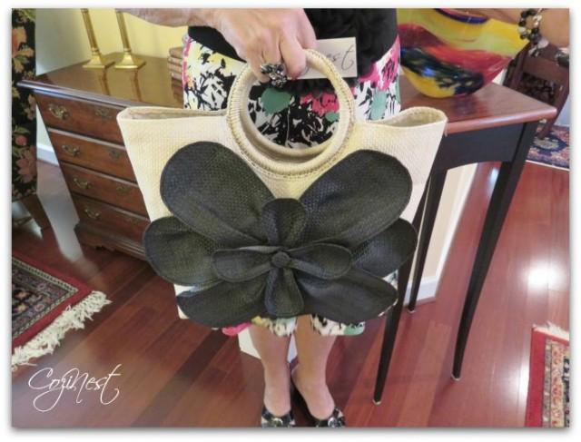 Jute Flower Bag