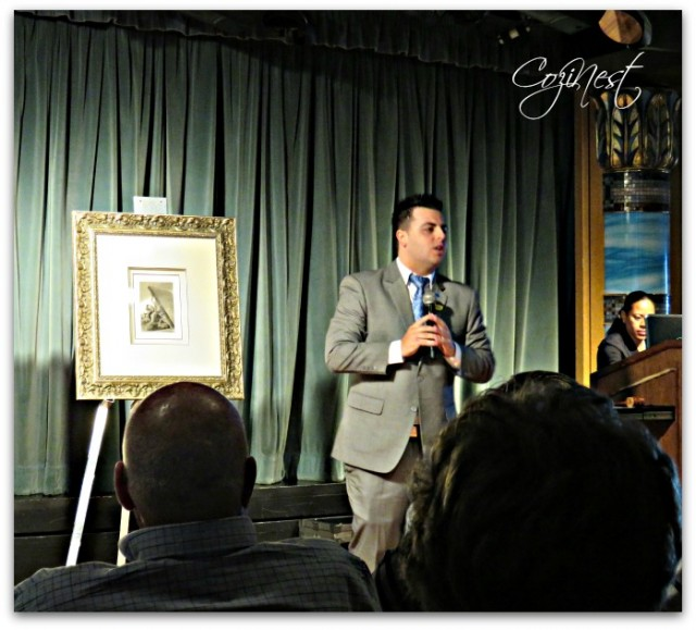 Art Auction on the Crown Princess