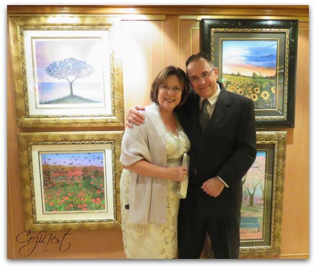 Crown Princess Art Gallery