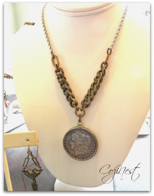Coin with Heavy Chain