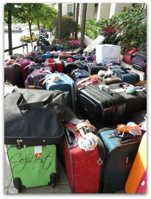 Sea of Luggage