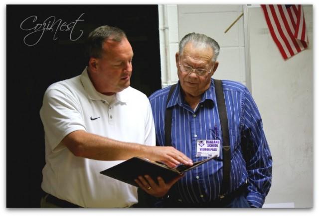 Coach Eden and Goose