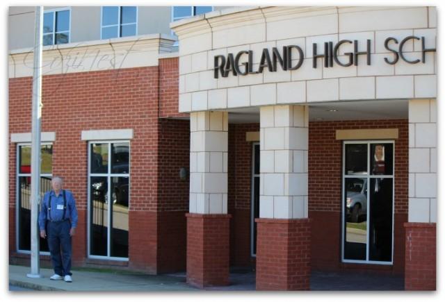 Front of Ragland High School