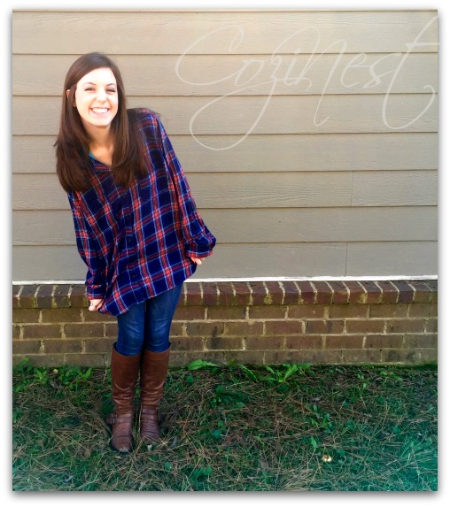 Plaid Shirt, Jeans and Boots
